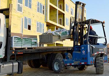 Building Materials Jobsite Delivery Rochester Lyons Syracuse NY