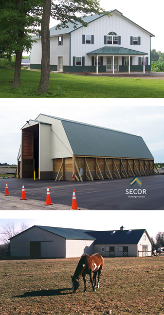 Post Frame Pole Barn Building Design Construction Rochester Lyons Syracuse NY