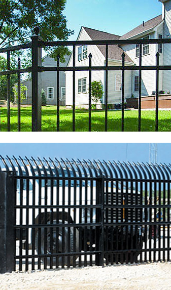 security fence design installation Rochester Syracuse Auburn NY